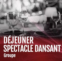 Déjeuner spectacle dansant groupe Cabaret Diner spectacle Paris
