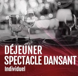 Déjeuner spectacle dansant individuel Cabaret Diner spectacle Paris