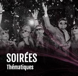 Soirées thématiques Cabaret Diner Spectacle Paris