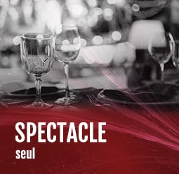 Spectacle seul Cabaret diner spectacle Paris