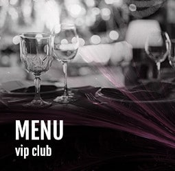 Menu VIP Club Cabaret Diner Spectacle Paris
