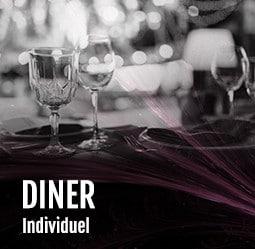 Diner individuel Cabaret Diner Spectacle Paris